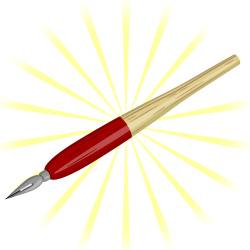 富山県の「伝説のかぶらペン」をお土産購入しました